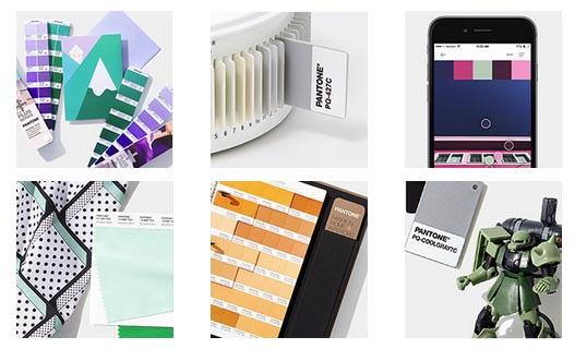 Системы цвета и нумерация Pantone