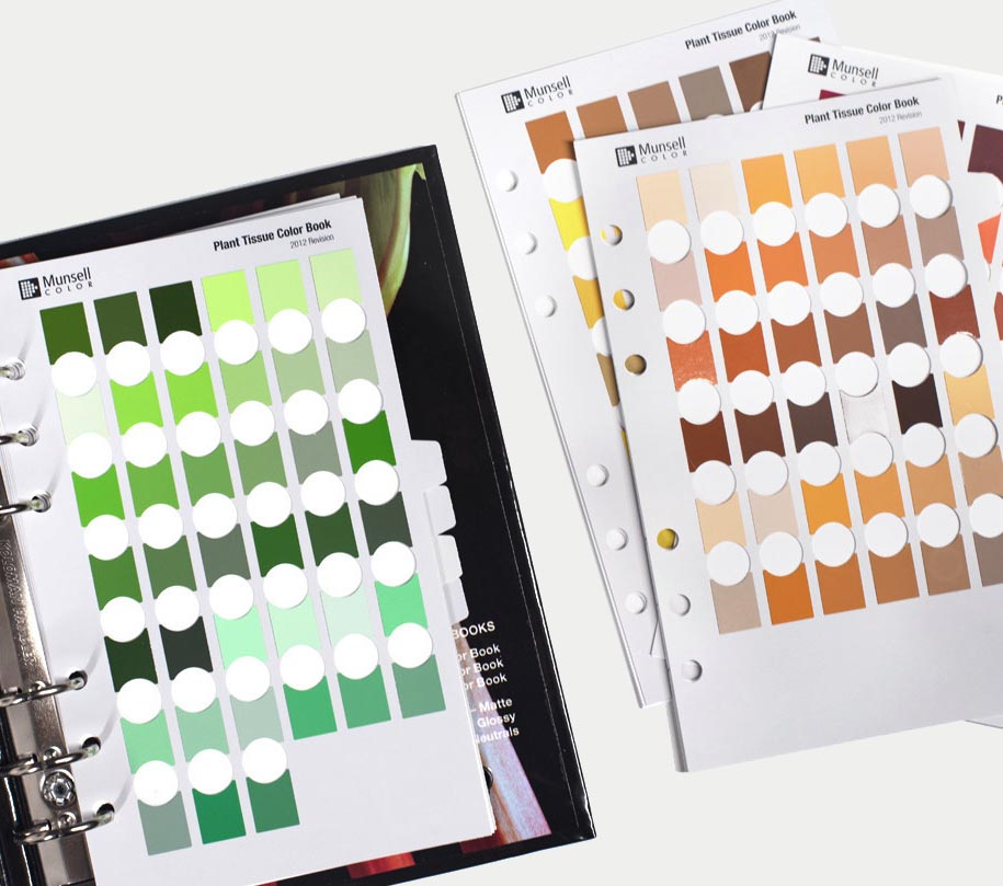 Munsell Plant Tissue Color Charts