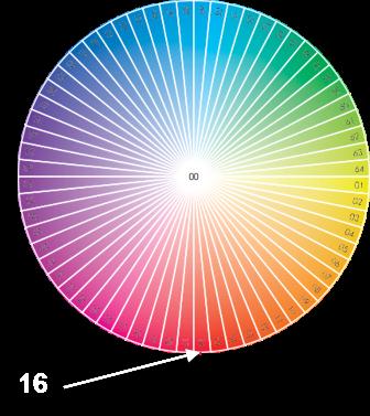 Значение номера цвета Pantone FHI часть 1 - оттенок