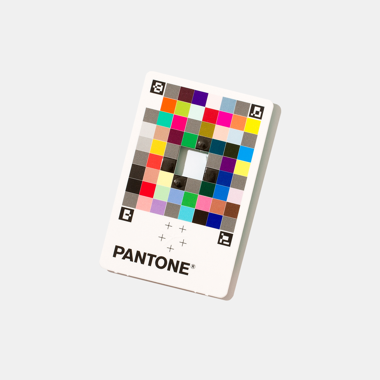 Pantone Color Match Card