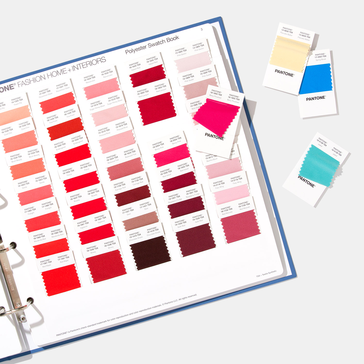 Pantone Fashion, Home + Interiors Polyester Swatch Book