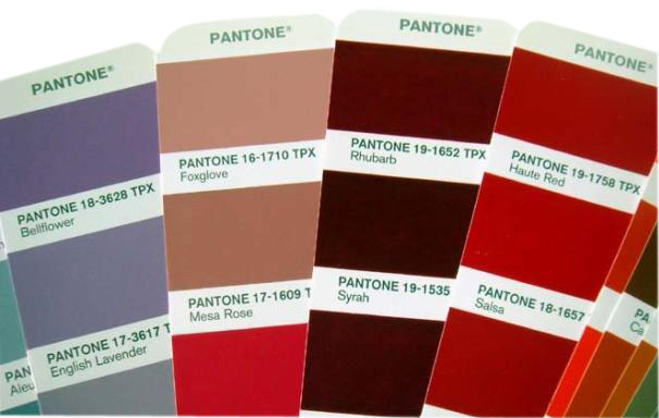 Знаете ли вы различия между Pantone TPX, TCX, TP, TC и TPG?