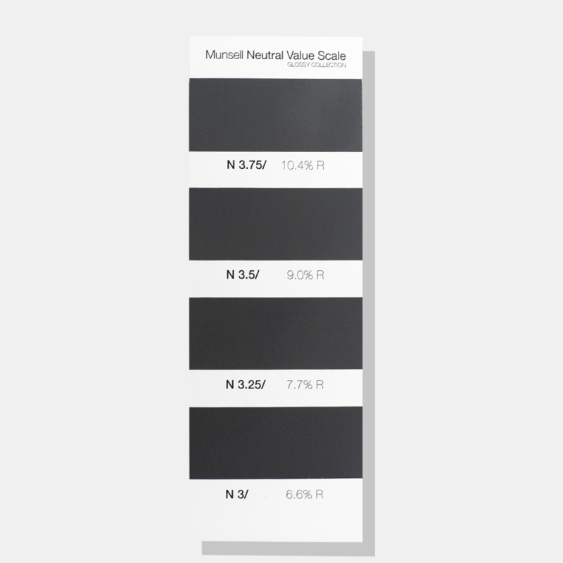 Munsell Neutral Value Scale – Glossy Finish