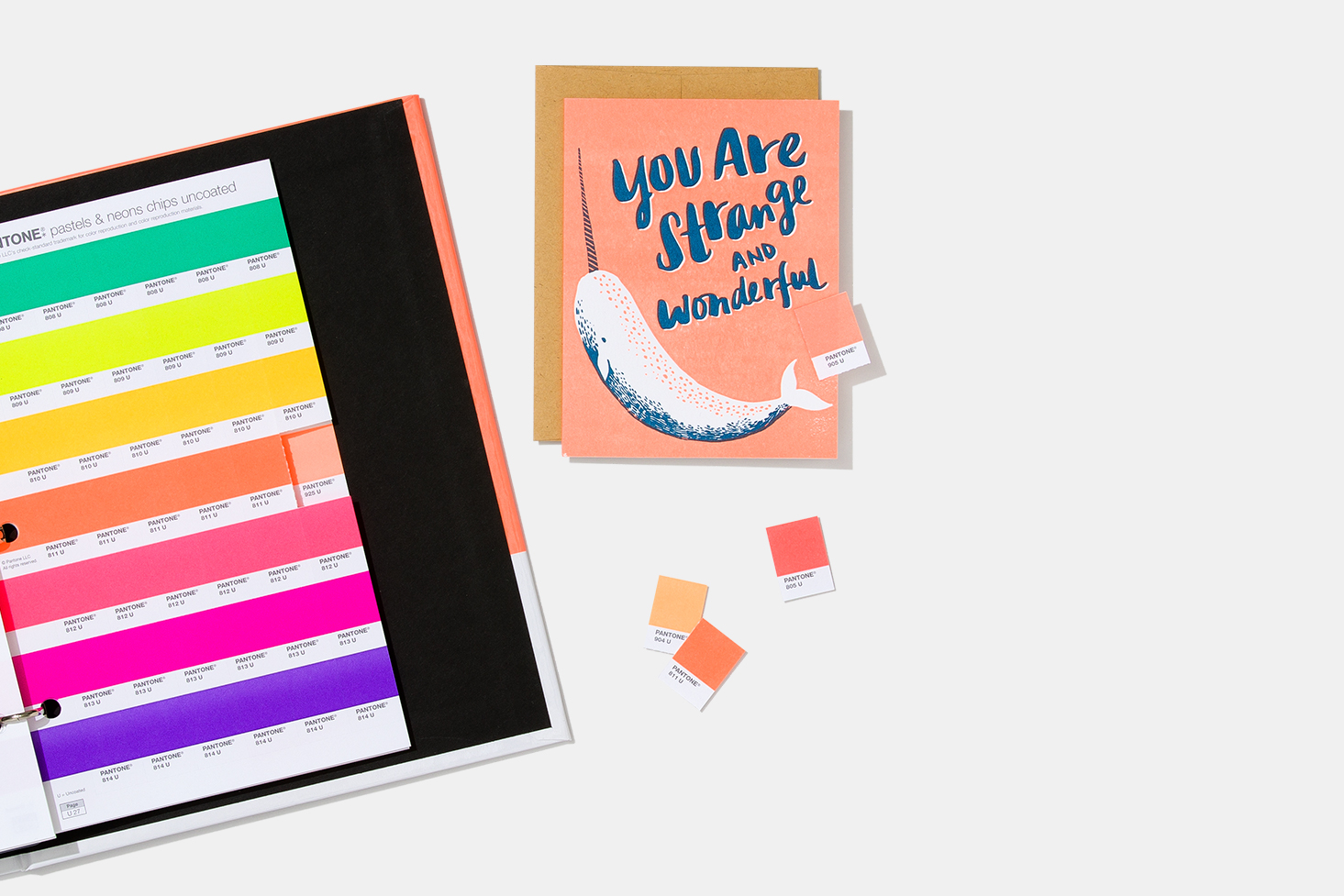 Pantone Pastels & Neons Chips | Coated & Uncoated