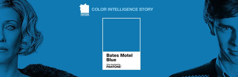 Bates Motel Blue (Синий Мотеля Бейтс) – любимый цвет Нормана